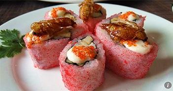Trung Quốc sản xuất sushi và thịt từ trang trại hàng tỷ con gián nuôi