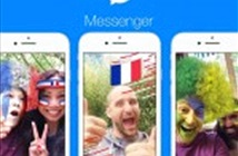 Facebook Messenger bổ sung cờ, khung ảnh, game World Cup