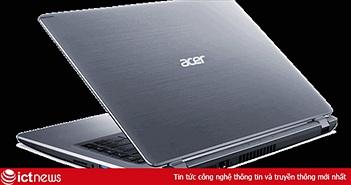 """Acer ra mắt laptop Aspire 5 A514 bộ nhớ Intel Optane, pin """"trâu"""" 10 tiếng"""