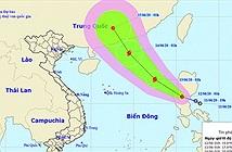 Xuất hiện áp thấp nhiệt đới đi vào biển Đông, có khả năng mạnh lên thành bão