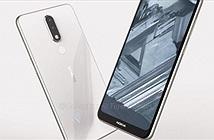 Ảnh Nokia 5.1 Plus xuất hiện, camera kép và màn hình tai thỏ