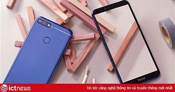 Honor giới thiệu 7A tại Việt Nam, màn hình tràn, mở khoá gương mặt, giá 2,89 triệu đồng
