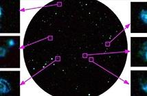 Choáng ngợp ảnh thiên hà cách xa 800 triệu năm ánh sáng