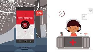 Ứng dụng cứu sống con người trong tai nạn xe hơi