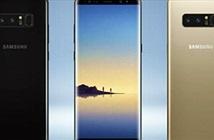 Samsung Galaxy Note 8 rò rỉ thông số quan trọng nhất