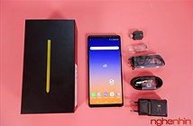 Mở hộp Galaxy Note 9 đầu tiên Việt Nam: bút S Pen thông minh hơn