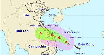 Nhiều tỉnh miền Trung ứng phó áp thấp nhiệt đới