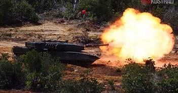 Cận cảnh siêu tăng Leopard 2RI của láng giềng Indonesia