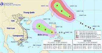 Bão số 10 đạt sức gió 150km/h trước khi đổ bộ Nghệ An - Quảng Trị