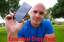 Thử thả rơi Essential Phone: khung Titan, vỏ Gốm rớt có dễ vỡ không?