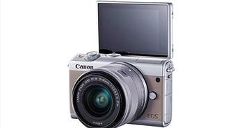 Canon ra mắt máy ảnh không gương lật Canon EOS M100
