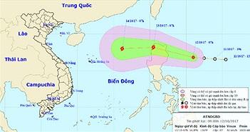 Biển Đông sắp đón cơn bão thứ 11