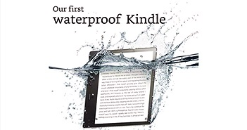 Amazon ra mắt máy đọc sách Kindle Oasis: Tích hợp âm thanh, chống nước