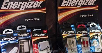 Loạt pin sạc dự phòng Energizer lên kệ, giá từ 800.000 đồng