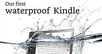 Amazon ra mắt phiên bản Kindle Oasis hỗ trợ chống nước