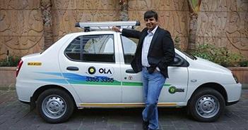 'Uber Ấn Độ' nhận được 1,1 tỉ USD đầu tư từ SoftBank và Tencent