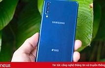 Cận cảnh Galaxy A7 mới ra mắt tại Việt Nam, giá bán 7,69 triệu đồng