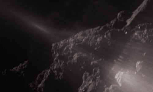 """Ảnh """"độc"""" tiểu hành tinh Ryugu chụp từ tàu robot mới"""