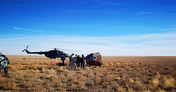 Phi hành gia thoát chết trong sự cố phóng tàu vũ trụ của Nga