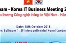 """""""Gặp gỡ Thương mại Việt Nam - Hàn Quốc"""": Cơ hội mới cho doanh nghiệp IT hai nước"""