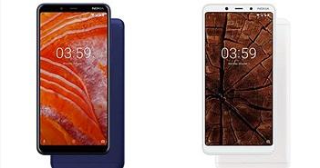 Nokia 3.1 Plus ra mắt: màn hình 6 inch, camera kép, giá 155 USD