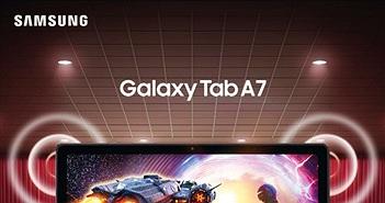 Samsung ra mắt máy tính bảng Galaxy Tab A7: Siêu phẩm giải trí đỉnh cao