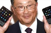 CEO BlackBerry xấu hổ vì vợ thích dùng điện thoại Samsung