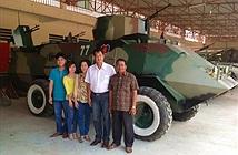 Đại tướng quân hai lúa chế tạo xe bọc thép: Làm khoa học xứ mình buồn lắm!