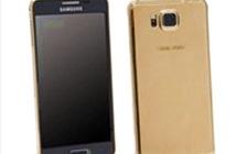 Ra mắt điện thoại Samsung Galaxy Alpha mạ vàng 24 carat