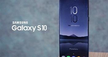 """Samsung Galaxy S10 concept đẹp thế này thì iPhone XS làm gì có """"cửa"""""""