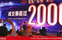 Alibaba thiết lập kỷ lục mới trong ngày mua sắm Độc thân 11/11