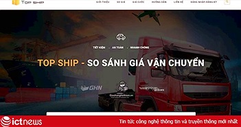 Ra mắt nền tảng so sánh giá vận chuyển Top Ship
