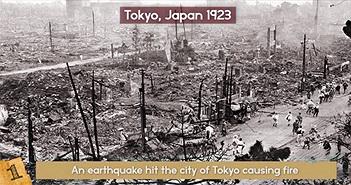 Những vụ cháy kinh hoàng nhất lịch sử loài người
