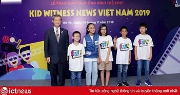 Panasonic trao giải cho chương trình làm phim qua ống kính trẻ thơ
