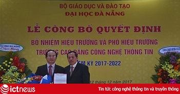 Bổ nhiệm Hiệu trưởng trường Cao đẳng CNTT Đà Nẵng