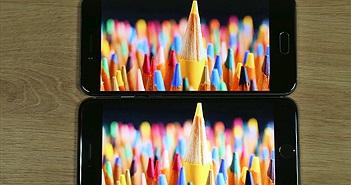 Đọ màn hình Bphone 2017 và iPhone 6 Plus