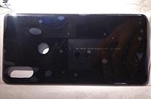 Mặt lưng Mi MIX 3 cũng có camera kép xếp dọc như iPhone X