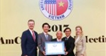 Dow Việt Nam được AmCham trao tặng Giải thưởng vì cộng đồng lần thứ 3 liên tiếp