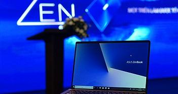 Loạt laptop siêu mỏng nhẹ ASUS ZenBook thế hệ mới: Đẹp, giá hấp dẫn