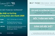 Điểm hẹn cuối năm của các Audiophile - Workshop cập nhật xu hướng thưởng thức âm thanh 2020