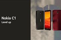 Nokia C1 ra mắt: 5,45 inch, Android Go, giá 1.37 triệu đồng