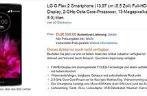 LG G Flex 2 giá 15 triệu đồng, đã cho đặt trước