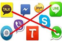 Anh xem xét cấm cửa iMessage và các ứng dụng nhắn tin mã hóa