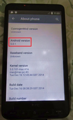'Cụ tổ' HTC HD2 gây sốc khi chạy được cả Android 5.0.1 Lollipop
