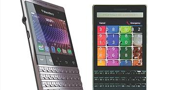 Điện thoại 'siêu đắt' Blackberry Porsche Design P'9983 so dáng P'9981