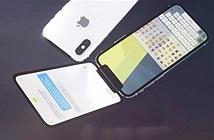 iPhone X phiên bản nắp gập đẹp rụng rời