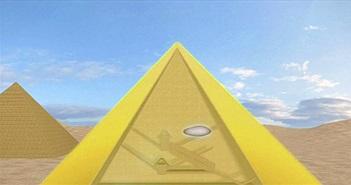 Phòng ẩn trong Đại kim tự tháp có thể chứa ngai của pharaoh