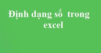 Cách chuyển Định dạng Con số từ text sang number trong Excel