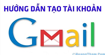 Cách đăng ký tạo tài khoản Gmail nhanh nhất