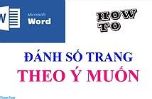 Cách Đánh Số Trang Trong Word 2003/2007/2010/2013/2016